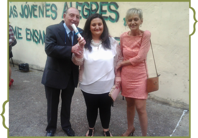 Graduaciòn de PALOMA MARIA VELASCO PAZOS.-